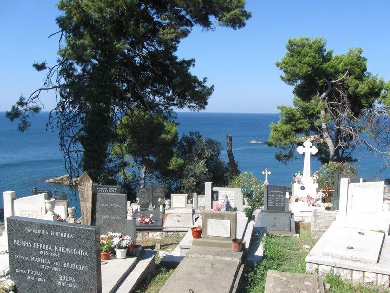 Кладбище в Ульцине