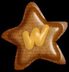 звезда w