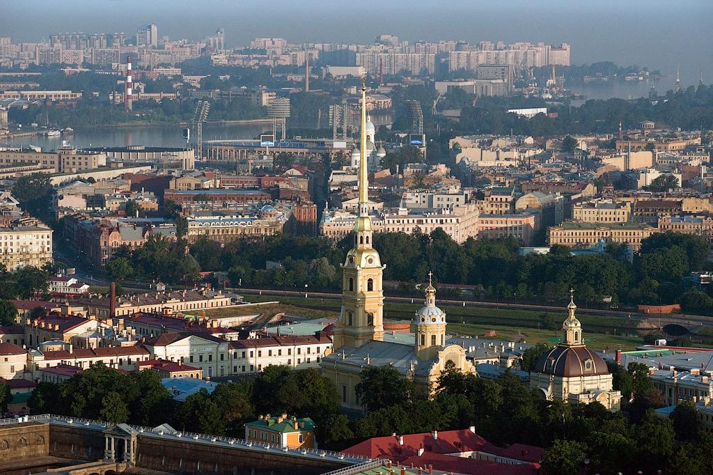 Полёт над Петербургом