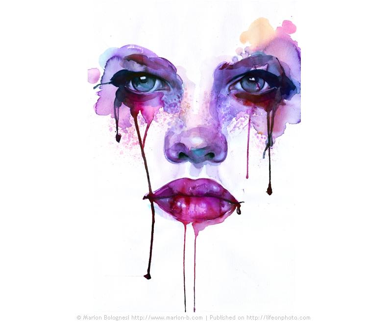 Акварель by Marion Bolognesi