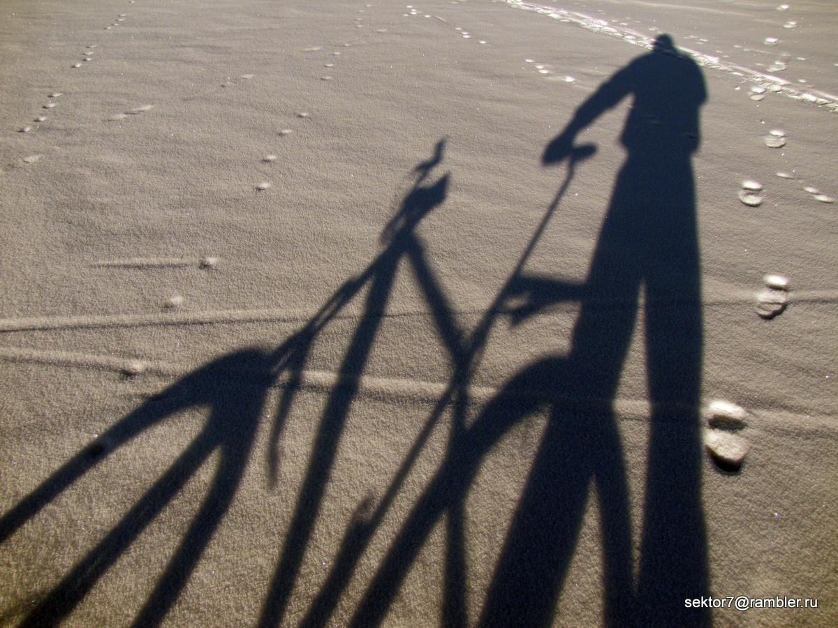 По реке на велосипеде №2