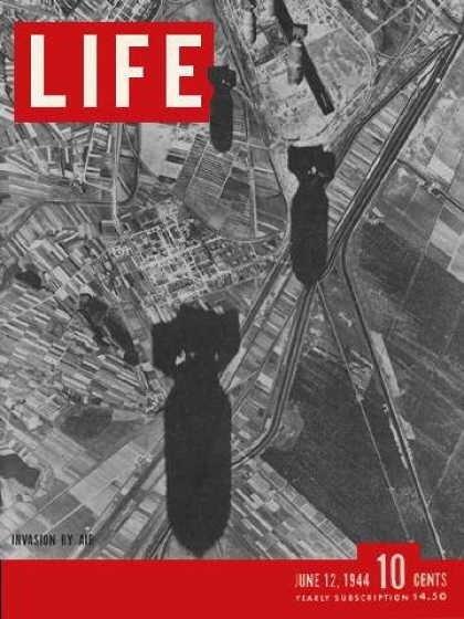 Bombs on Italy - June 12, 1944 (U.S. Arny Air Force / LIFE Magazine)