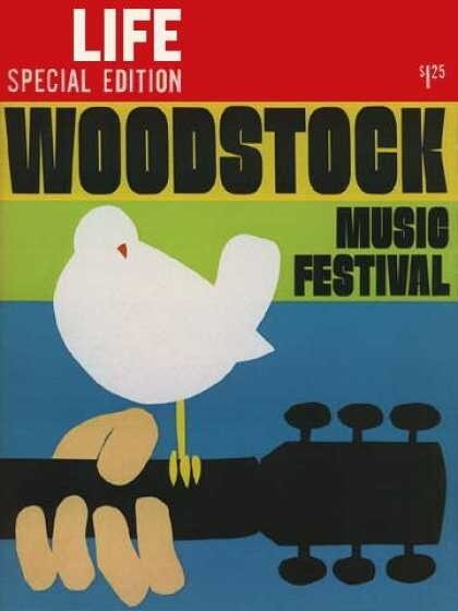 The special issue of Life dedicated to Woodstock - September 6, 1969