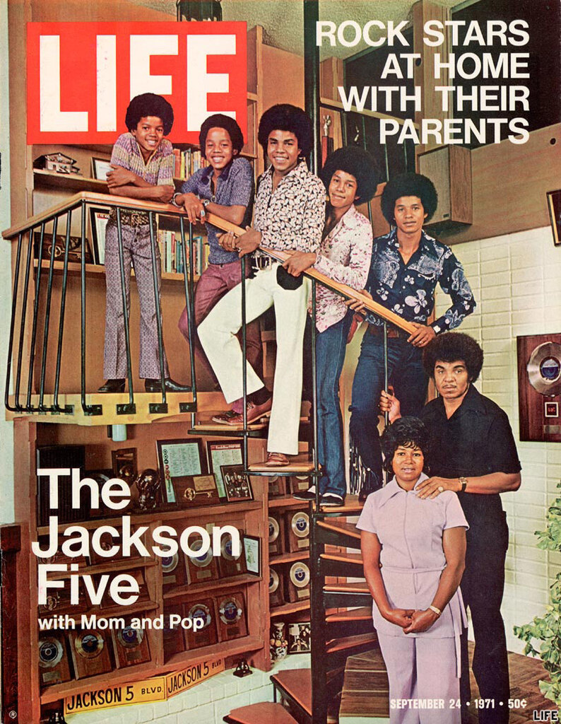1971: Jackson 5 on the Cover of Life Magazine