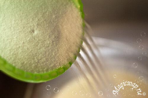 """""""Иней"""" - соляное мыло с нуля (рецепт и мастер-класс)"""