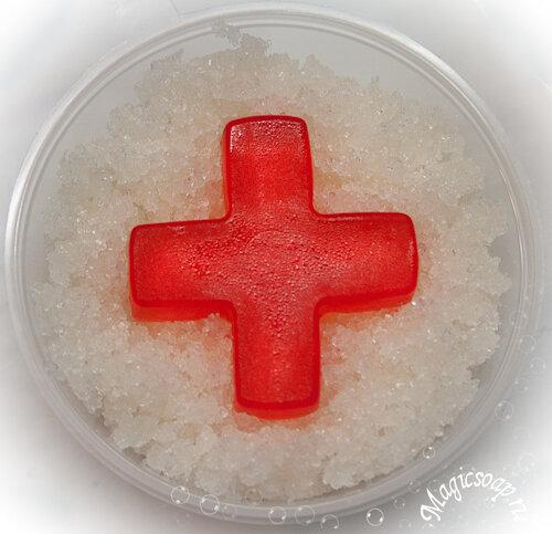 Первая помощь... при первом снеге - сахарный скраб для тела