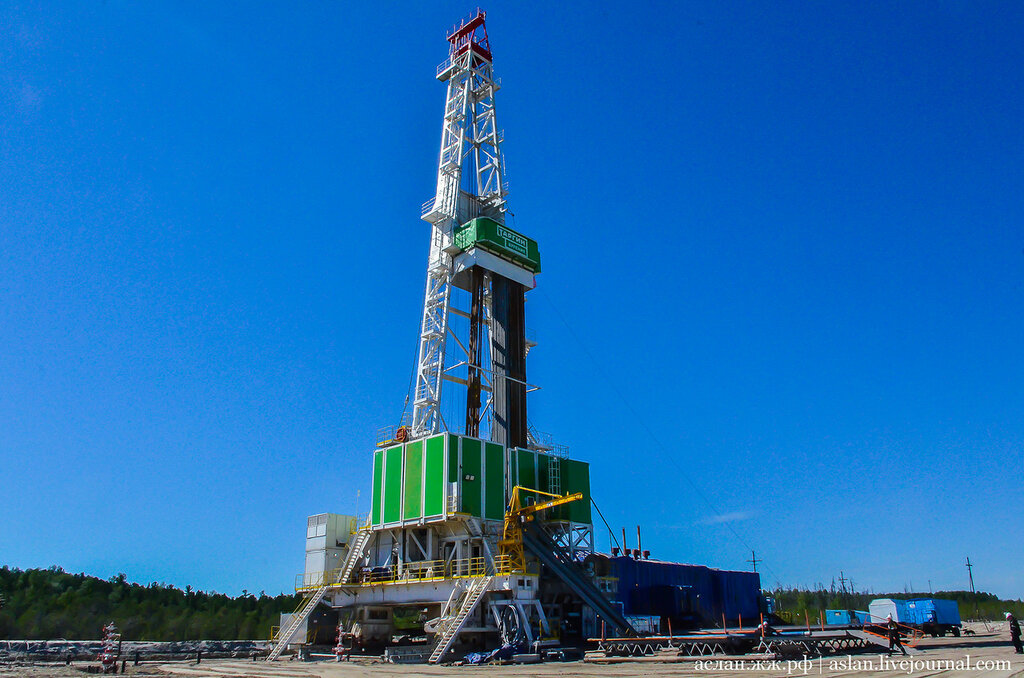 газа нефти и фото буровых установок