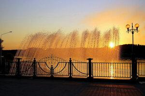 Вид на реку. Зеленогорск (Красноярский край)