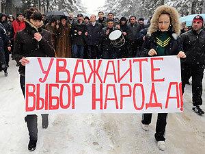 Избиратель Владивостока из Китая: большой привет Чурову от меня и моей супруги...