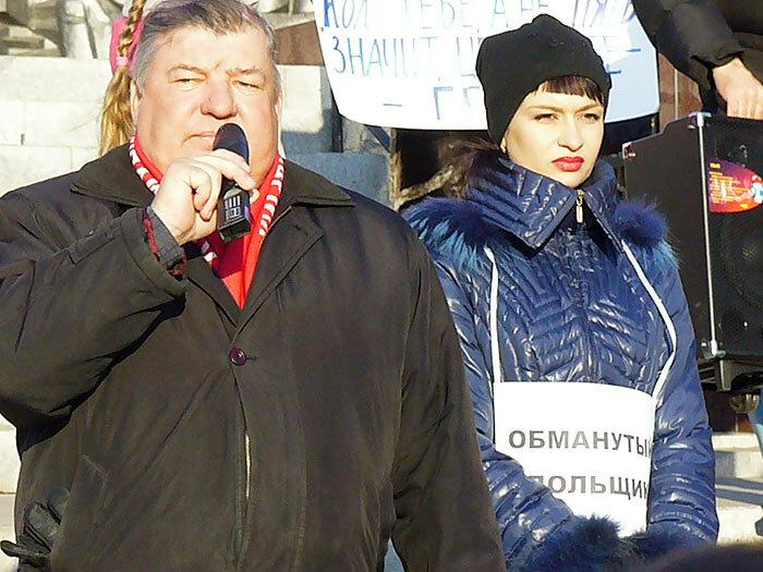 """Владивосток: """"Наш дурдом голосует за Путина..."""". Премьера - в отставку!"""