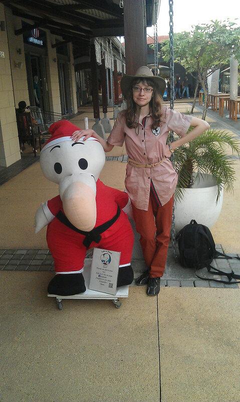 Додо в торговом центре Каскавель, Маврикий