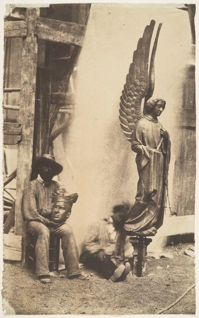 1852. Ангел страсти, Сент-Шапель