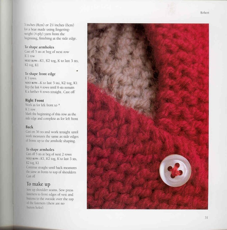 The Knitted Teddy Bear: Make Your Own Heirloom Toys, with Dozens of Paterns for Unique Clothing by Sandra Polley