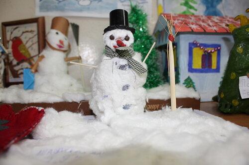 Зимняя сказка - поделка в детский сад! Разные поделки Pinterest