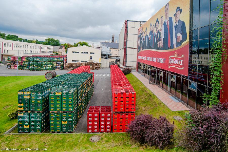 экскурсия на завод чешского пива