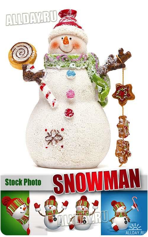 Снеговик - Растровый клипарт