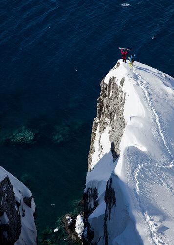Jeremy Jones и Xavier Delerue продолжают покорять Антарктику