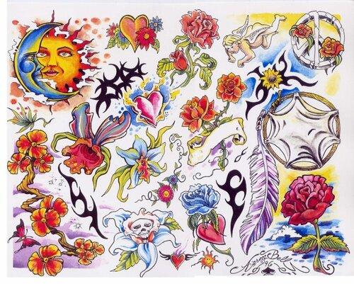 Татуировки на руки для девушек на все
