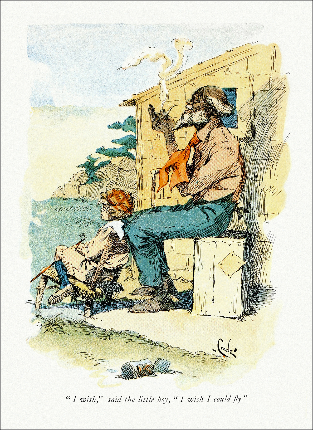 Uncle Remus and the Little Boy, J. M. Conde
