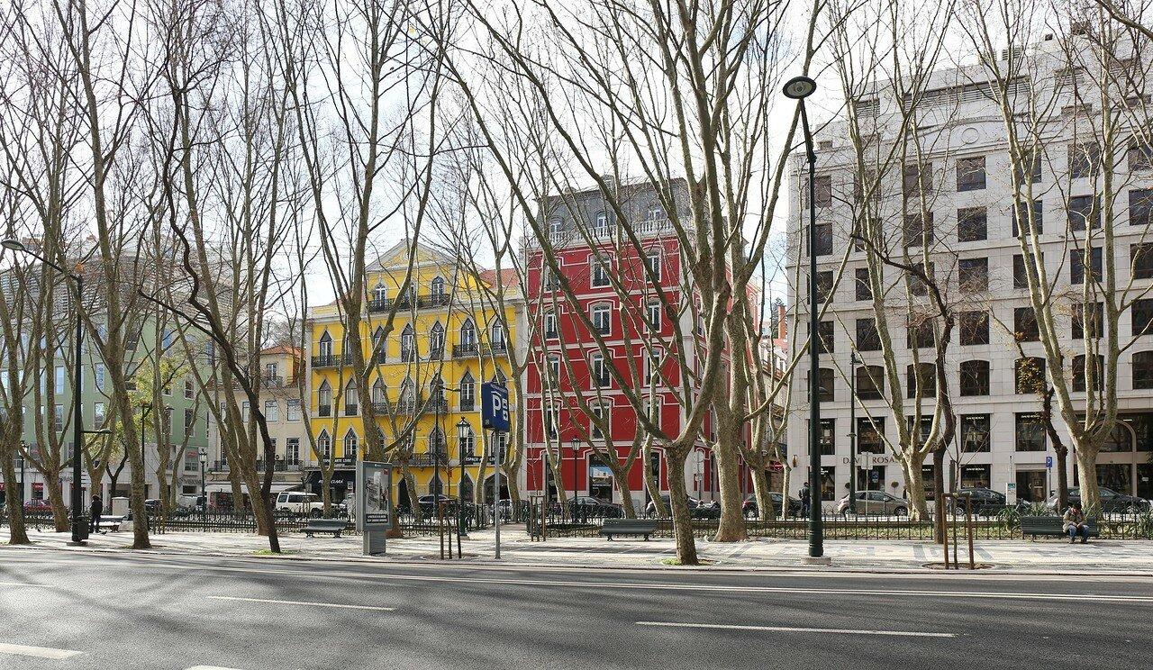 Lisbon. Avenue of Liberty (Avenida da Liberdade)