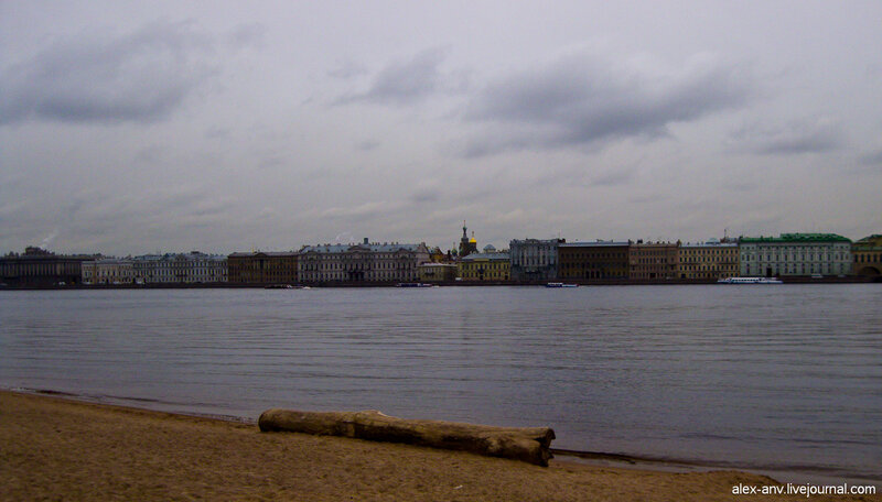 Петропавловская крепость. Купола Спаса-на-Крови.