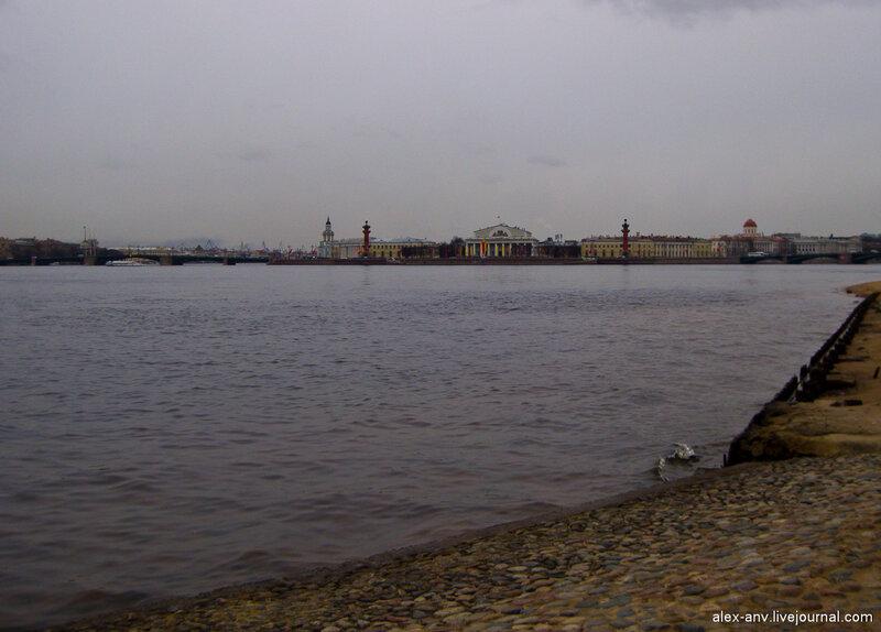 Петропавловская крепость. Ещё раз Стрелка Васильевского острова.