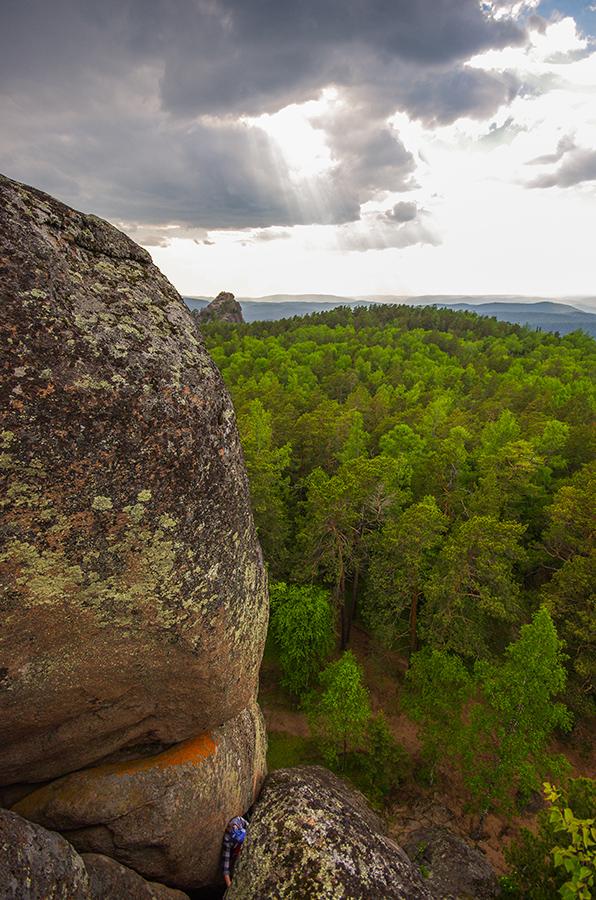 Взгляд с вершины первого Пера