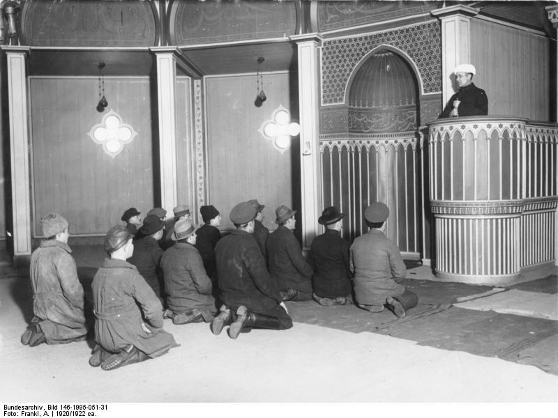 Мечеть для военнопленных в лагере
