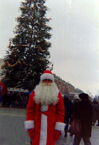 ёлка и Дед Мороз 1998, Белгород, фото Sanchess