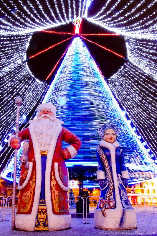 ёлка 2012, Белгород, фото Sanchess