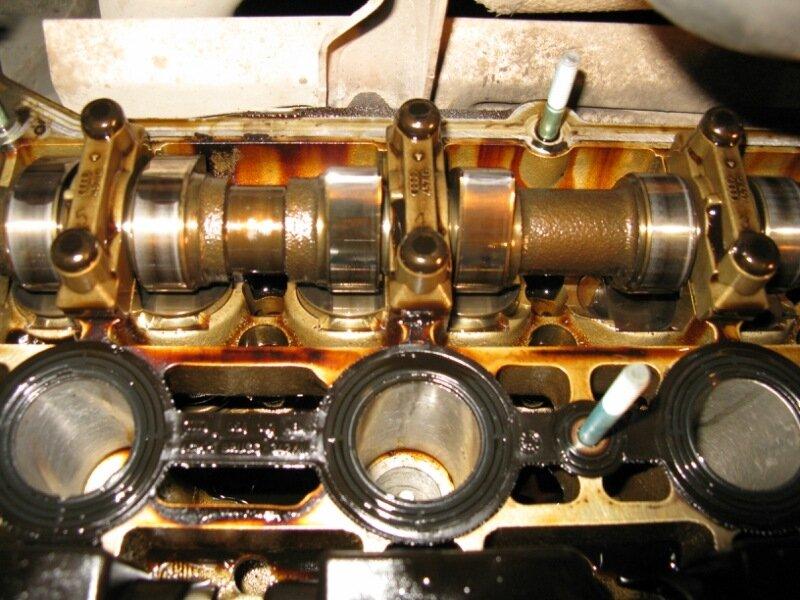 прокладка клапанной крышки замена skoda octavia