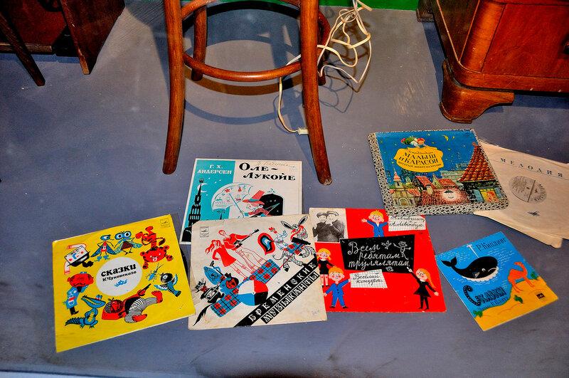 Детские пластинки со сказками