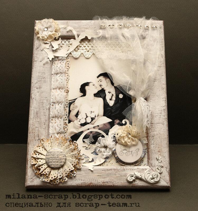 Рамки своими руками свадебные