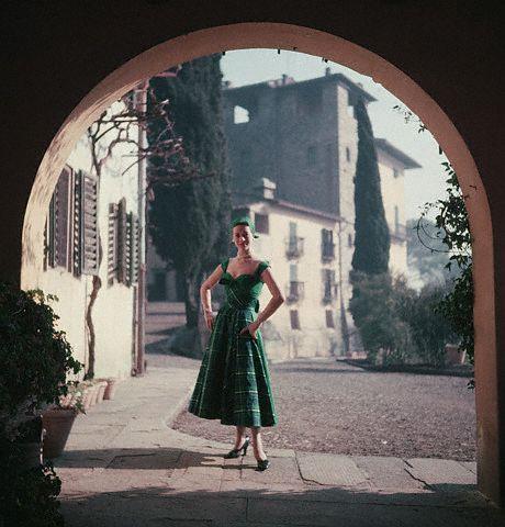1950s Florence Fashion