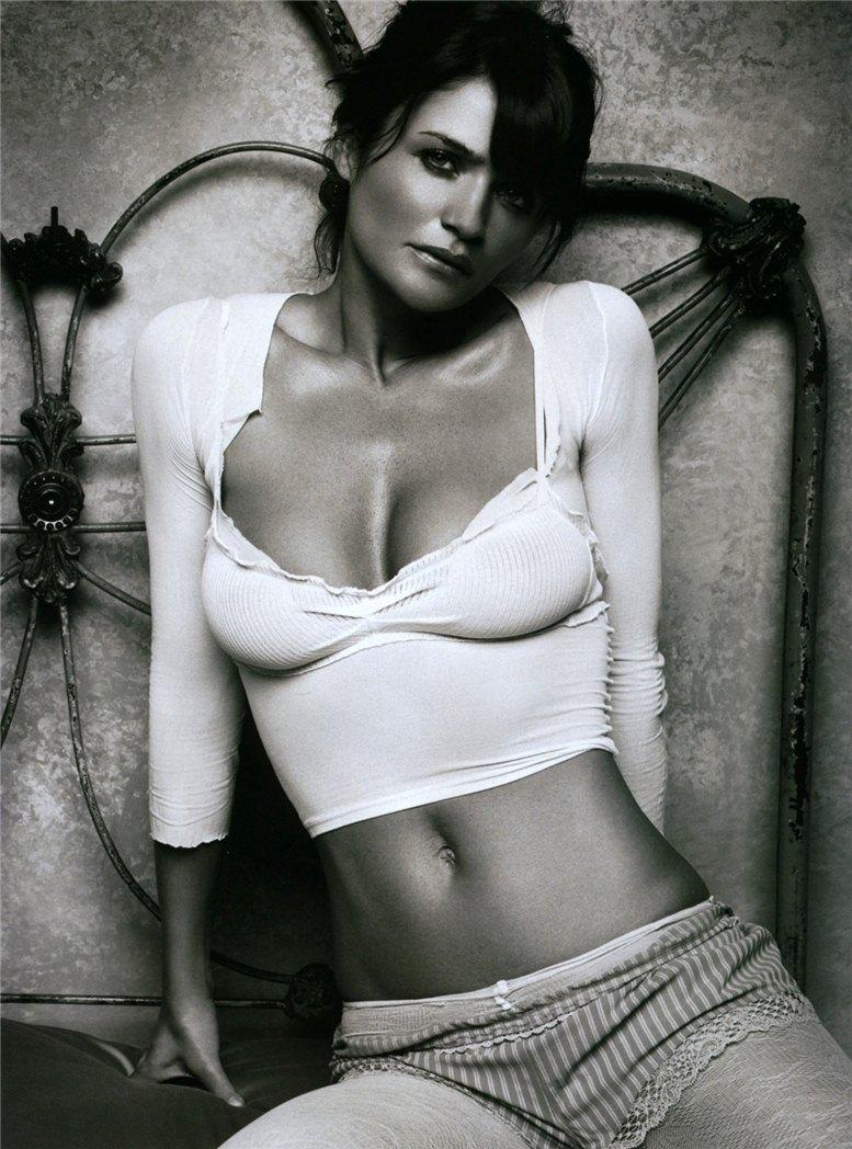 модель Хелена Кристенсен / Helena Christensen, фотограф Michael Williams