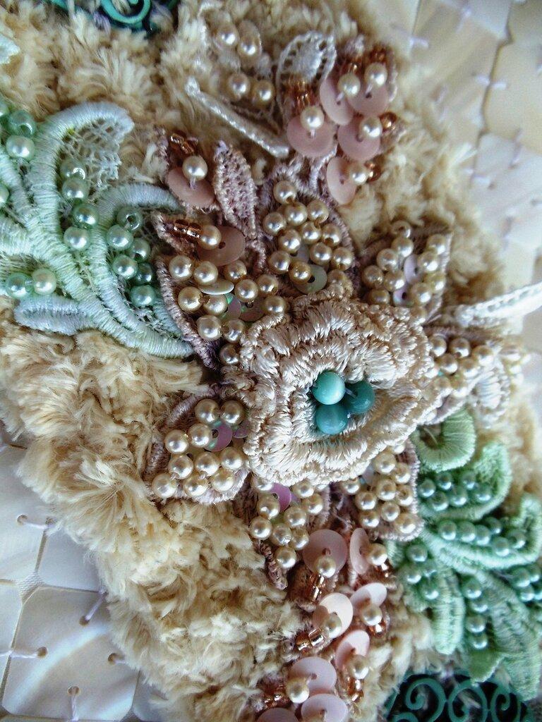Подборка текстур, вышивки, текстиль