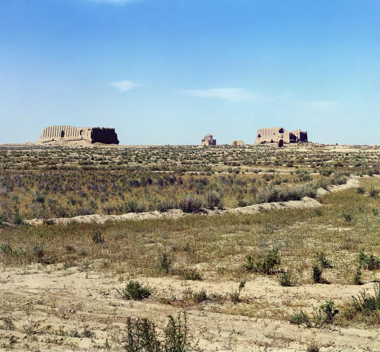 Древний Мерв. Развалины Текинского укрепления около Байрам-Али