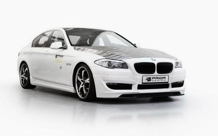 Cкромный тюнинг-пакет BMW 5 F10  от ателье Prior Design