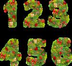 русский новогодний алфавит