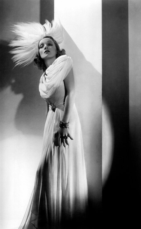 Marlene Dietrich - by George Hurrell 1937