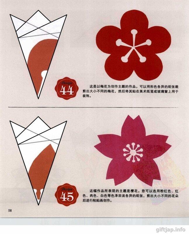Вырезанки из бумаги цветы