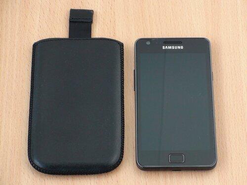 Galaxy S II с чехлом за 15$