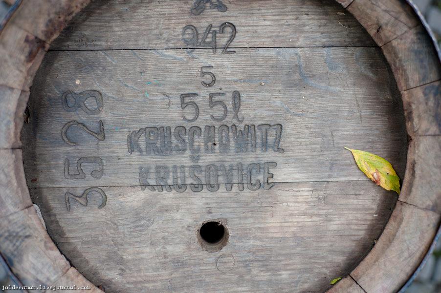 деревянная пивная бочка