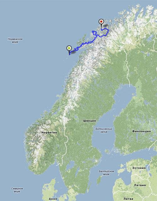 Норвегия интро