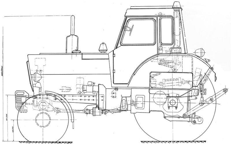 схема трактора беларусь
