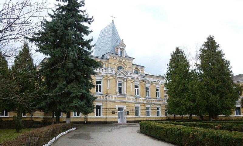 Главный корпус больницы им. А. И. Ющенко