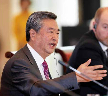 президент информационного агенства Синхуа Li Congjun