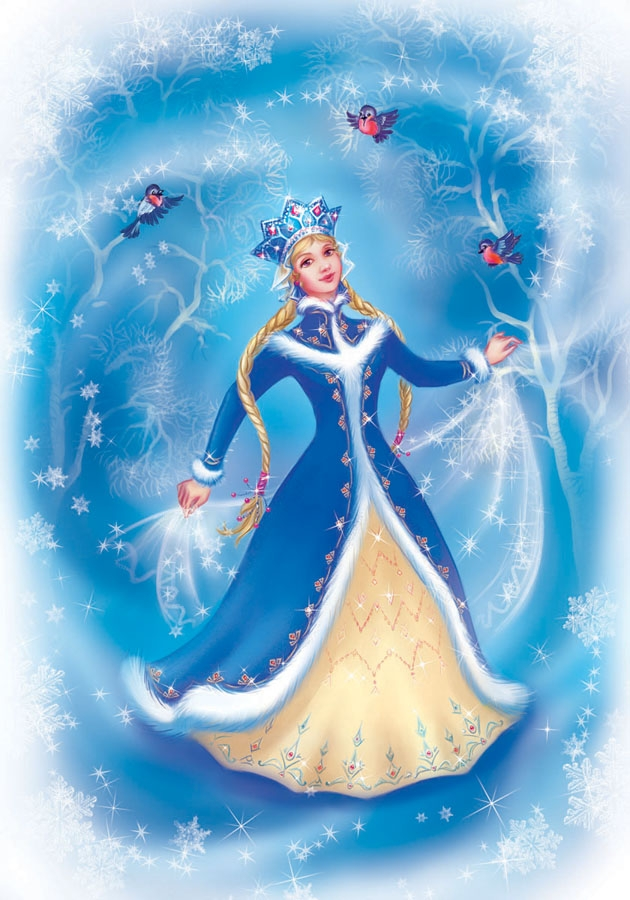 Новогодние иллюстрации. OlesyaGavr