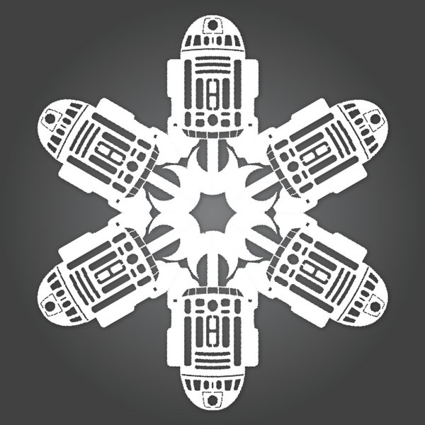 How To Make Star Wars Snowflakes.