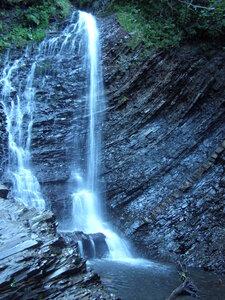 Водоспад Женецький Гук. Фото з з Вікіпедії